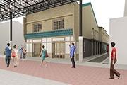 円頓寺に民宿とボルダリングジムの複合施設 空き家再生計画、支援者呼び掛け