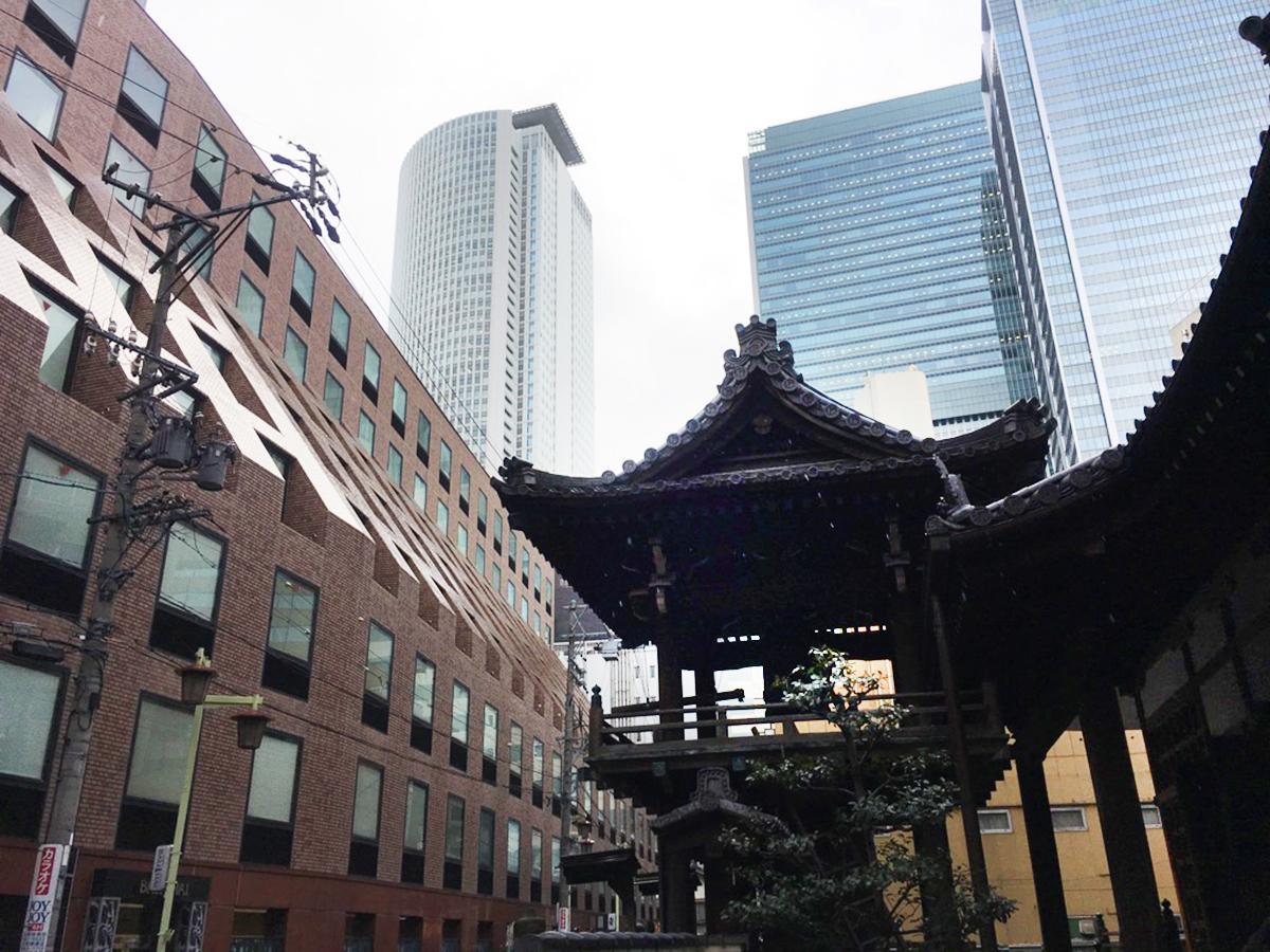 名古屋駅最寄りの寺院で「除夜の...