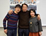 名駅シネマスコーレで中川運河ロケのオムニバス映画 松本監督ら会見