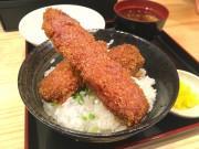 名古屋駅前市場に醤油カツ丼の店「わだ泉」 夜は魚介類の串揚げも