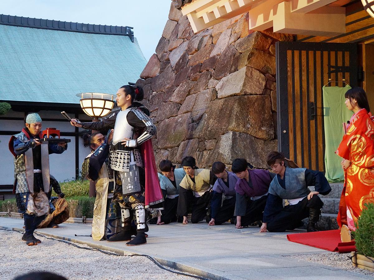 再現劇「清洲城の出陣」(昨年の様子。画像提供:名古屋観光コンベンションビューロー)