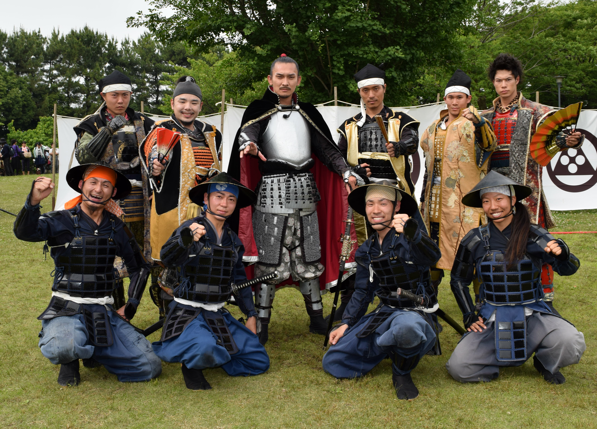 名古屋おもてなし武将隊」が新メンバーお披露目式 利家と太助が加入 ...
