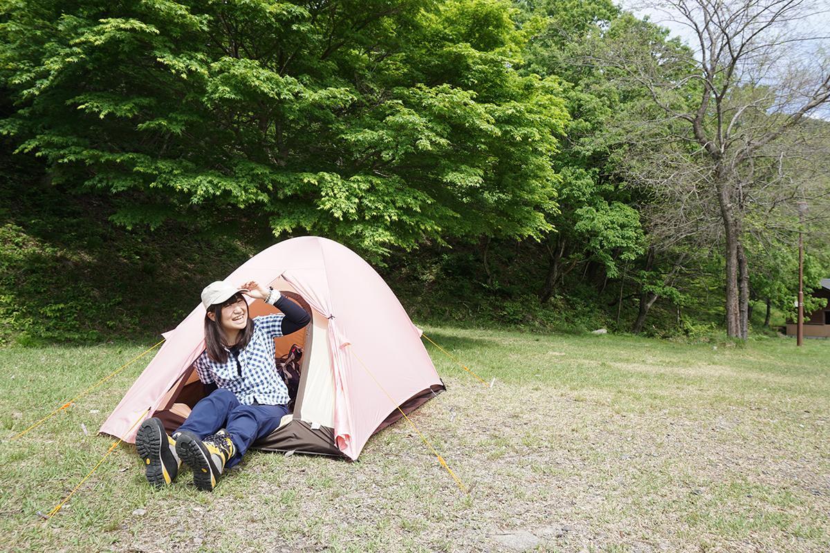 「おとな女子登山部 はじめてのテント泊」イメージ