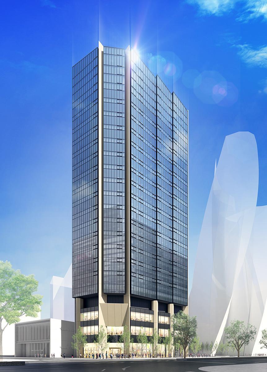 「名古屋三井ビルディング北館(仮称)」外観イメージ