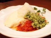 シャリシャリとした食感が楽しめる「氷結サルサオムライス」