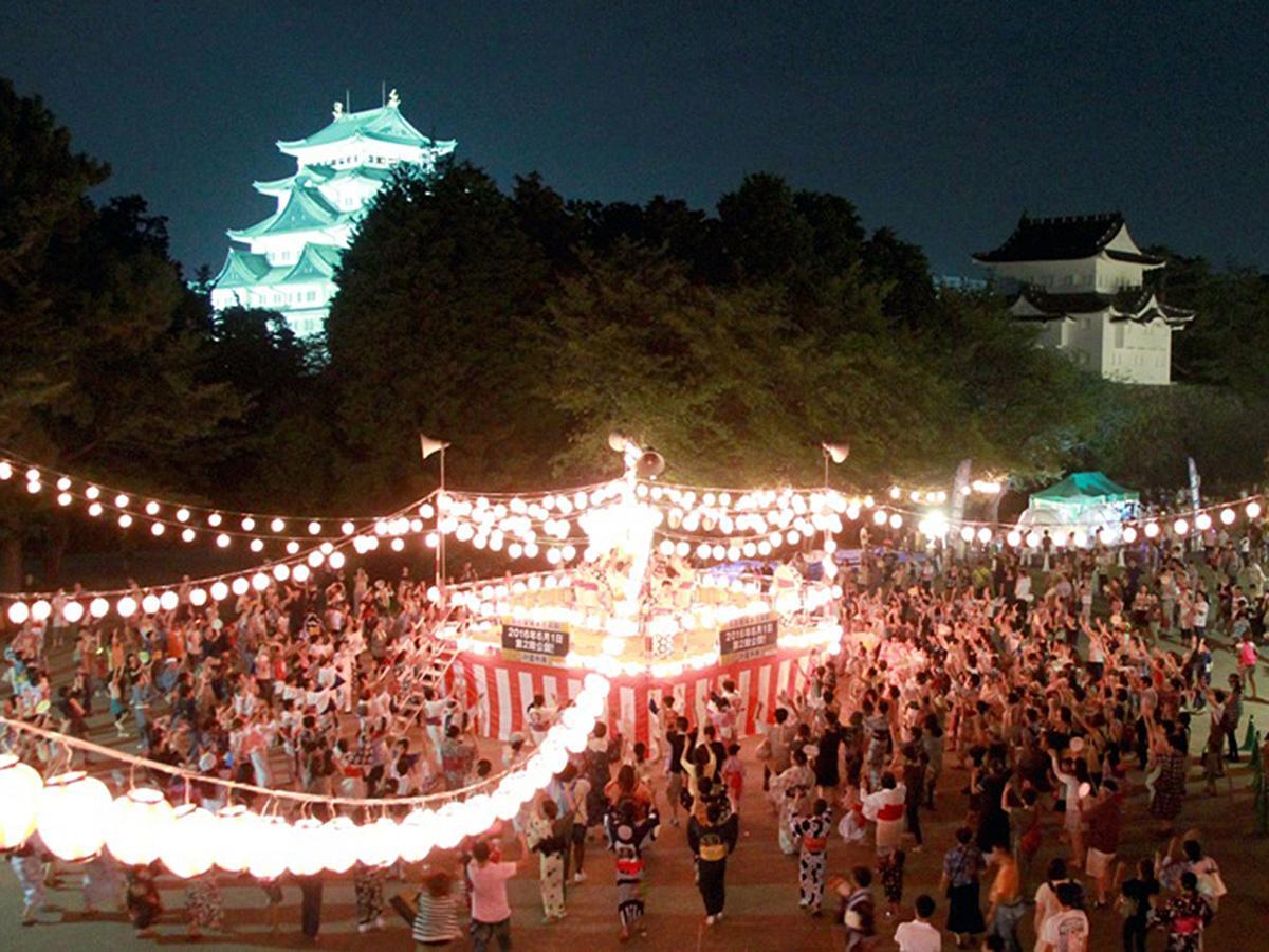 過去の大盆踊り大会の様子
