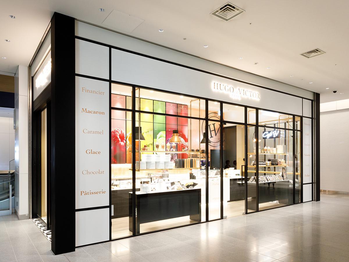 名古屋に初出店したパリ発パティスリー「HUGO & VICTOR(ユーゴ アンド ヴィクトール)」店舗外観
