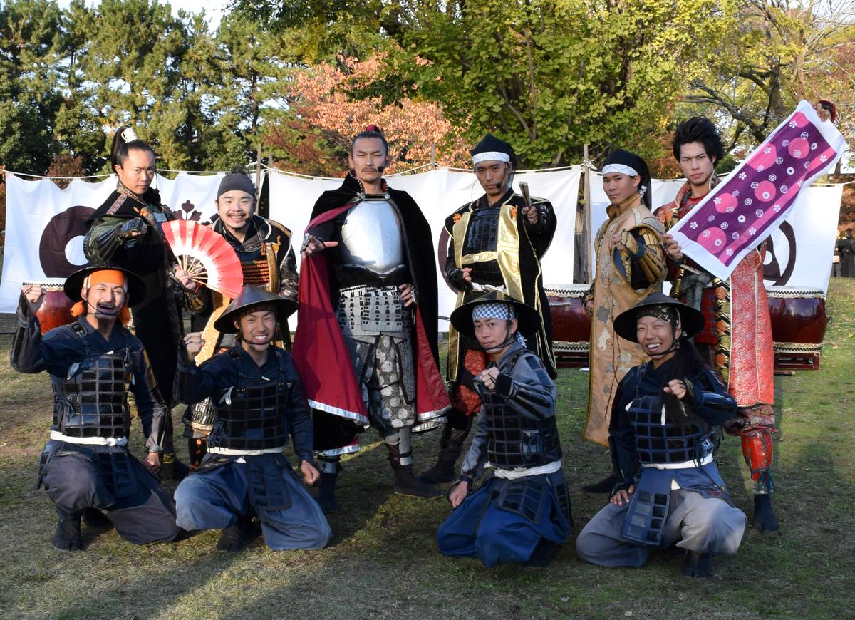結成9周年を迎えた「名古屋おもてなし武将隊」