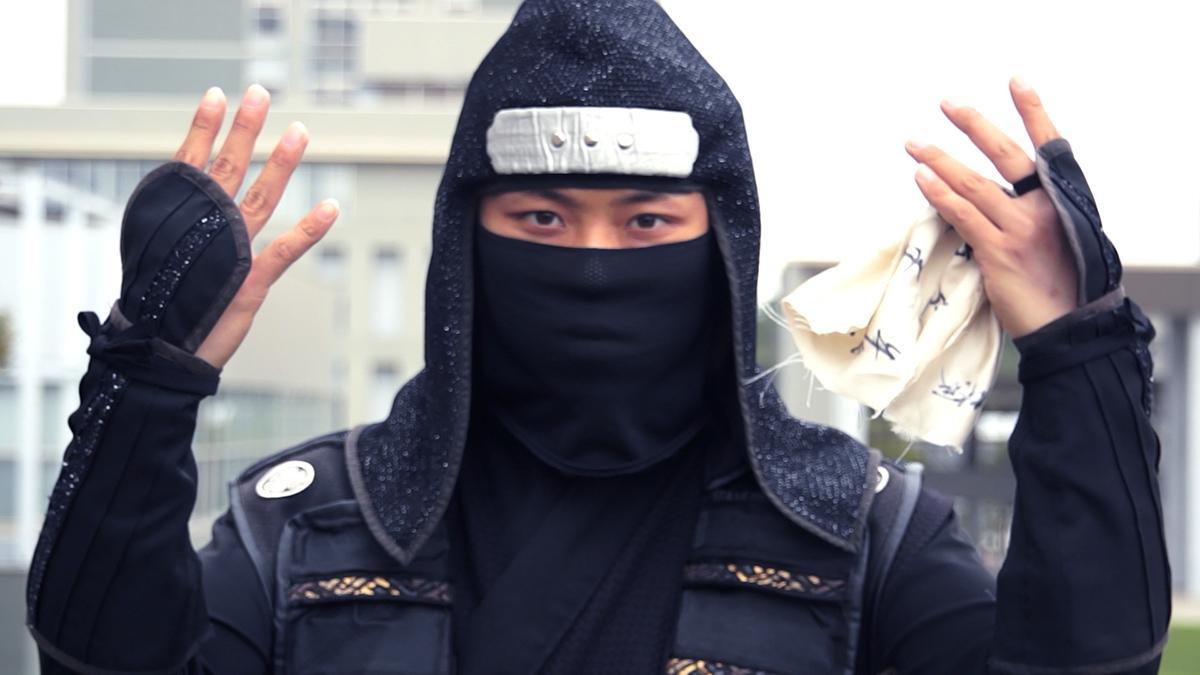 「遅刻忍者 / A late ninja」のワンシーン