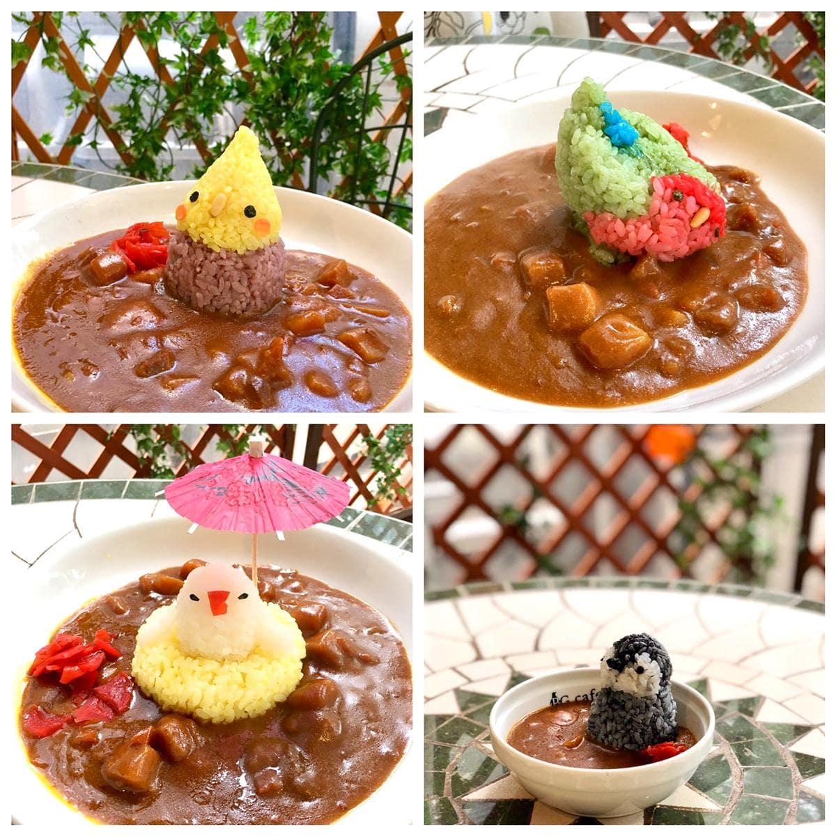 12月30日に販売する「いんこKITCHEN」のカレー(イメージ写真) 画像提供=ことりカフェ
