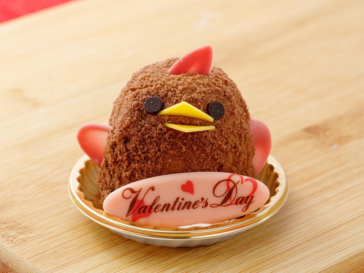 チョコレート味の限定商品「バレンタインぴよりん」