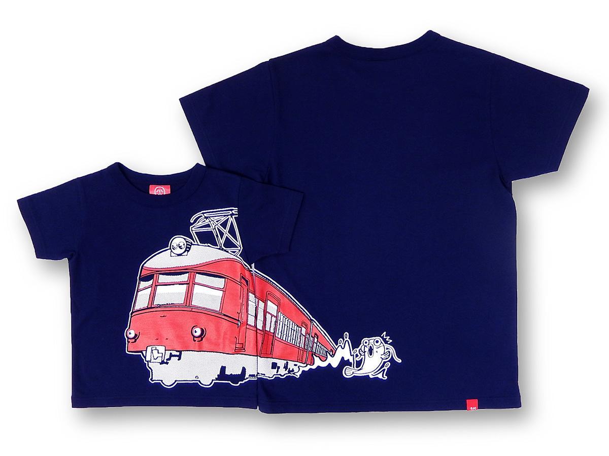 「名鉄850系×OJICO」Tシャツ