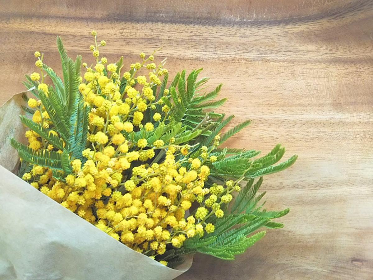 ミモザの花束のイメージ(画像提供=ホテル ナゴヤキャッスル)