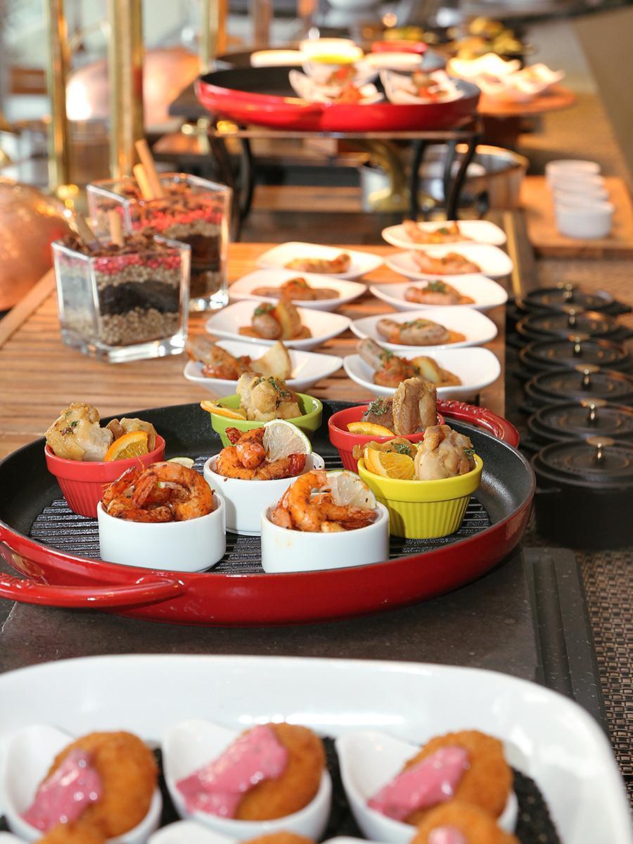 「ココ・パレット」で提供する「個々盛り」にした料理(イメージ、画像提供=名古屋マリオットアソシアホテル)