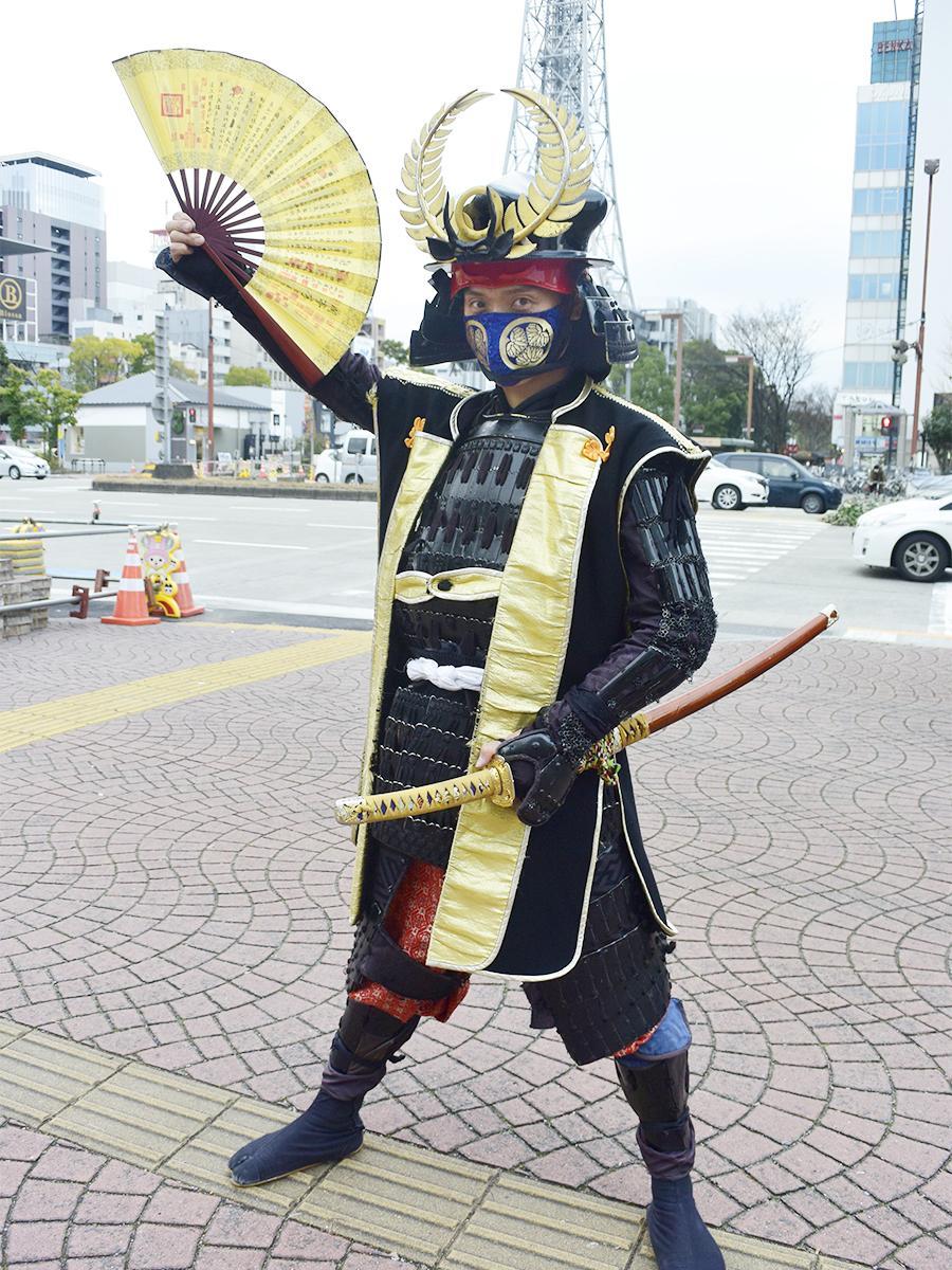 名古屋おもてなし武将隊の徳川家康さん