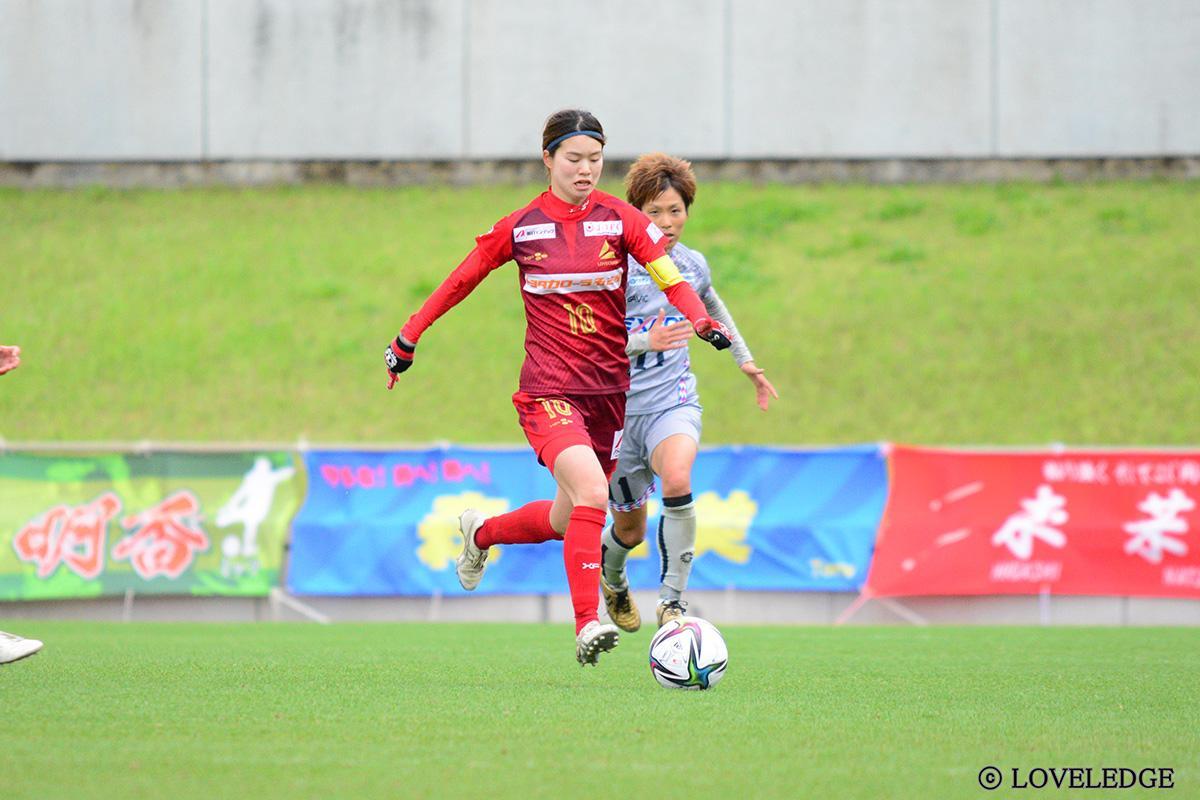 今季よりキャプテンを務める三浦桃選手