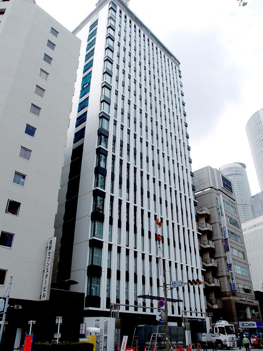 現在建設中の「モンブランホテルラフィネ名古屋駅前」外観
