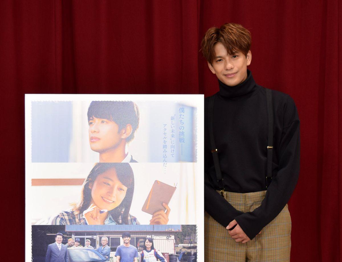 愛知、岐阜で撮影の映画「僕と彼女とラリーと」が9月24日、ミッドランドスクエアシネマほかで全国に先駆け先行公開。主演の森崎ウィンさんが来名して会見