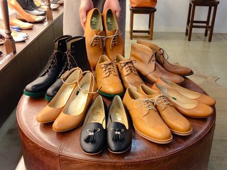 名駅のオーダーメード靴店、「飛騨牛」の牛革を使った靴を受注販売