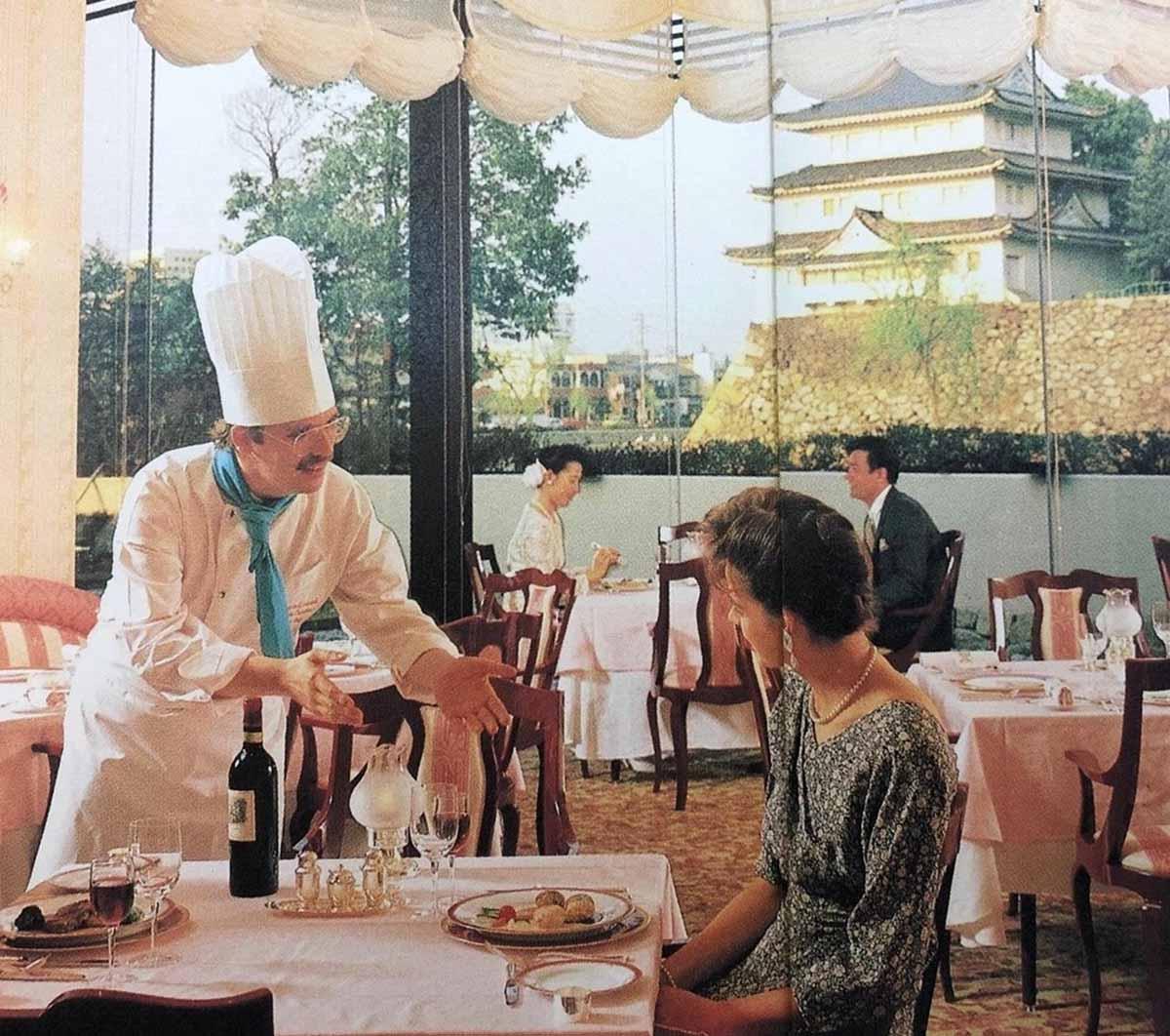 開業当時から1990年代後半まで営業していたフレンチレストラン「シャン ...