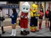 名駅でバスケ2クラブがチラシ配布 愛知ダービーの観戦呼び掛け