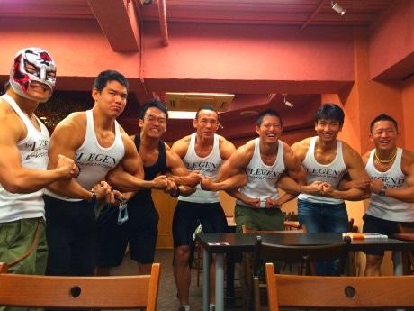 「肉弾」見たさに長蛇の列が 1日限りの「マッチョカフェ」に行ってみた!