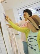 描いた人数6千人超 話題のユニットuwabamiに絵を描くコツを教わった