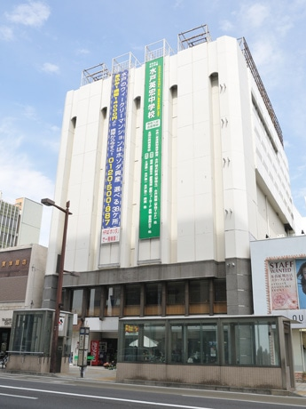 コミケットスペシャルのメーン会場となる旧水戸京成百貨店ビル