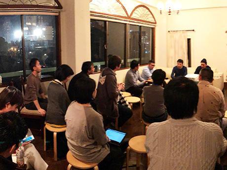 11月5日に東京・千駄ヶ谷で行われた「茨城移住計画」での様子