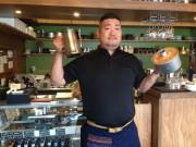 城里・那珂川のほとりにカフェ「マーシーズコーヒー」