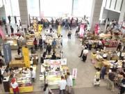 茨城県庁で「いばらきスイートフェア」 卵のつかみどり販売も