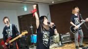 水戸でロックバンド「THE SALA」インストアライブ 世界ツアー前に新アルバム