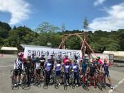 イベントに参加する笠間自転車de街づくり協会メンバーら
