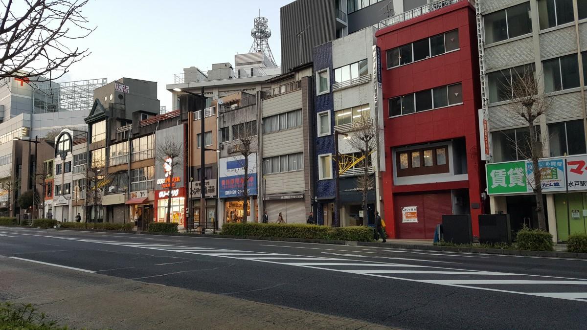 三の丸・銀杏坂北側地区の街並み