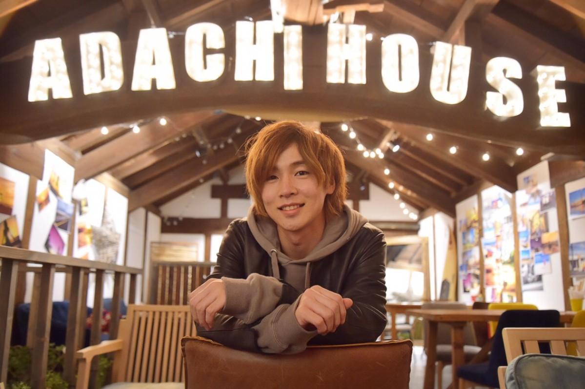 イベント企画会社「ADACHI HOUSE」設立を発表した安達勇人さん