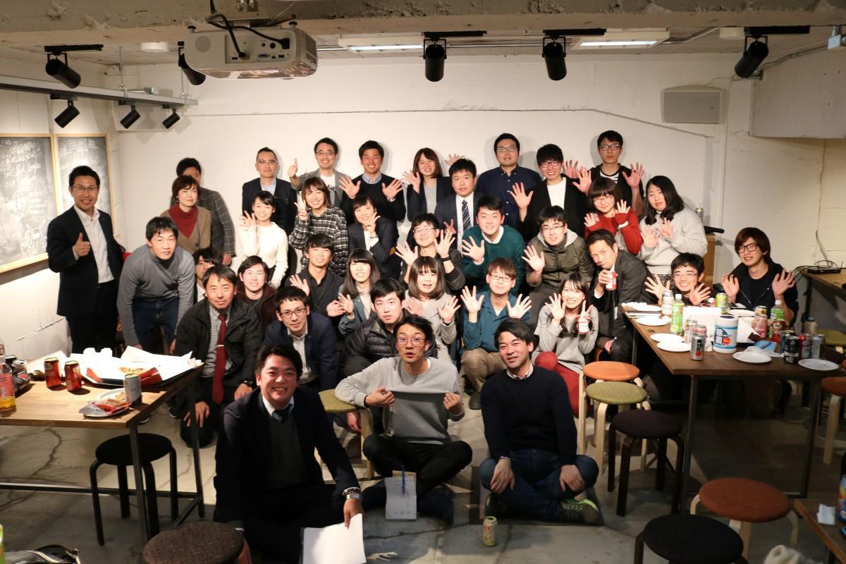 イベントには大学生から40代までが参加した