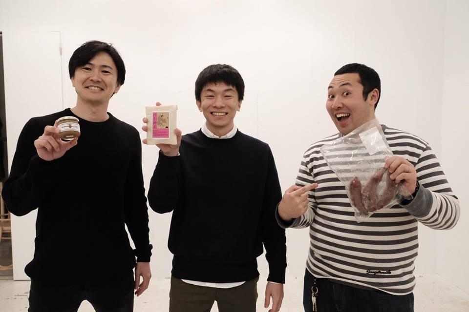 株式会社納豆の宮下裕任さん(写真:中央)
