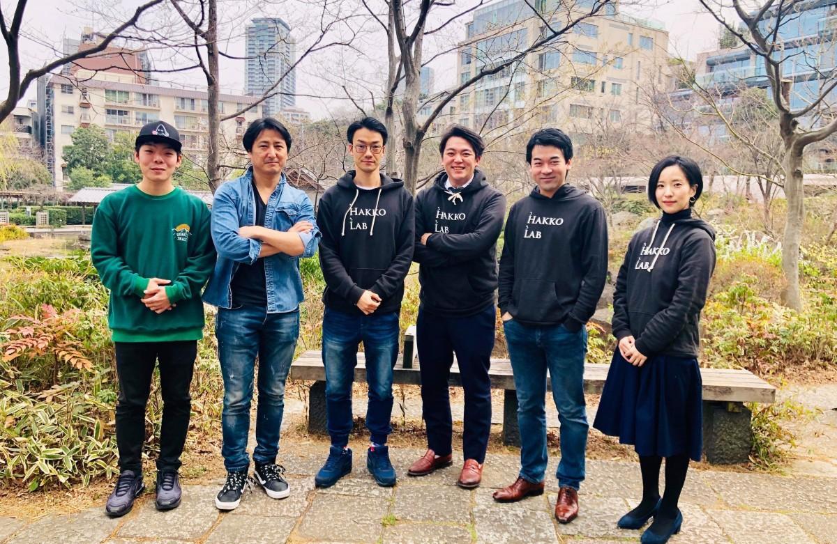 左からM-Work運営・櫻井さん、M-Work代表・須田さん、Hakko Lab・豊崎さん、川嶋さん、加藤さん、高木さん