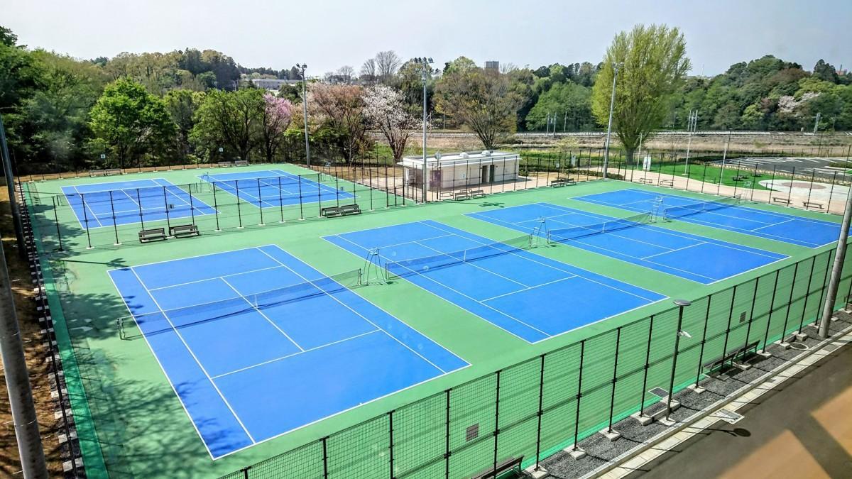 水戸の東町運動公園テニスコートがリニューアル ハードコートに - 水戸 ...