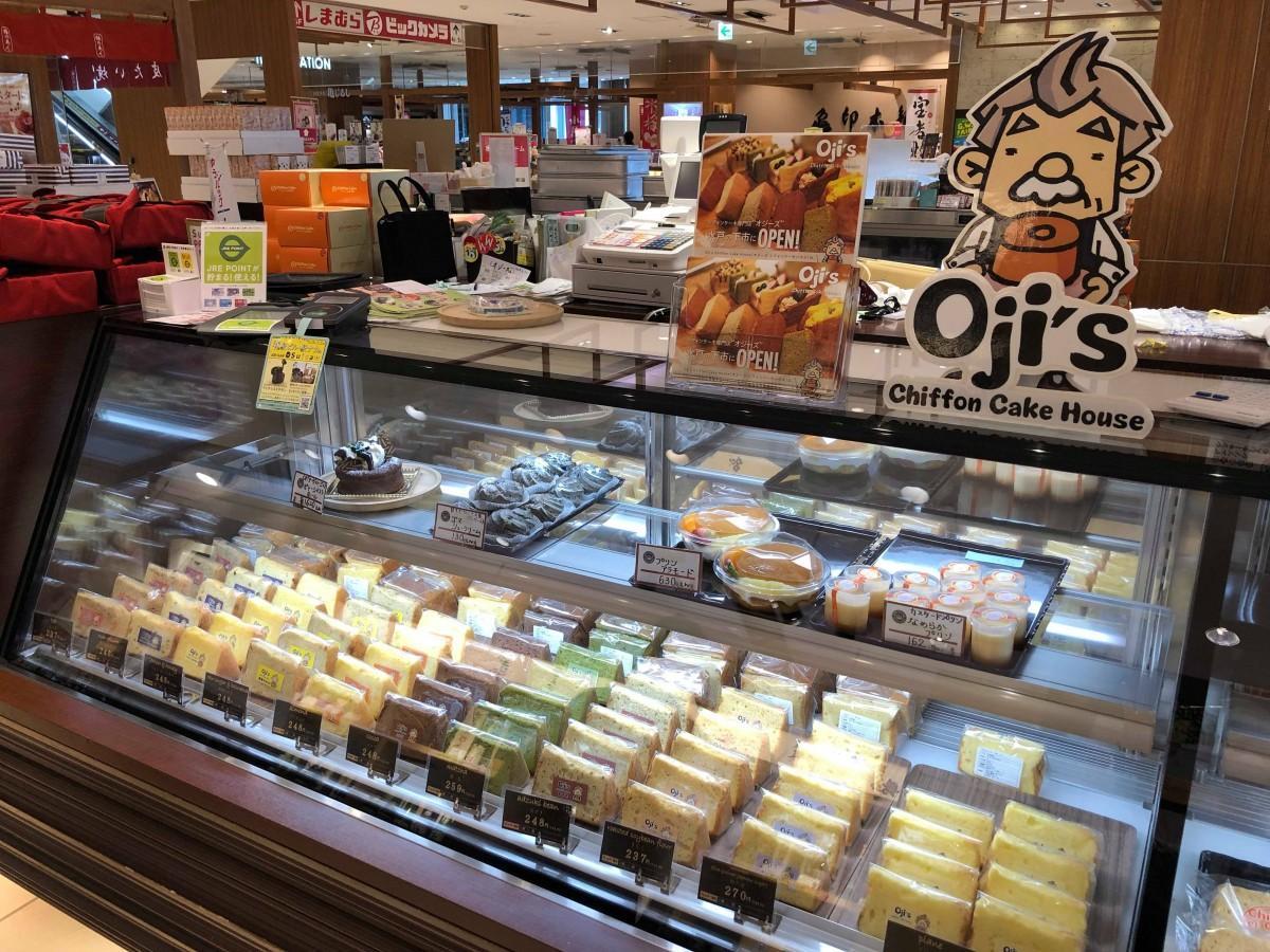 IBARAKIスイーツ工房コーナーに出店したオジーズシフォンケーキハウス