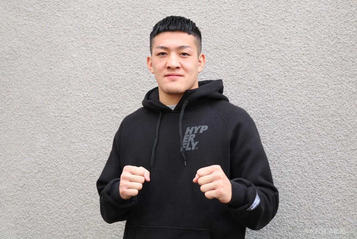 総合格闘技「パンクラス」でプロ昇格となる鹿志村仁之介さん