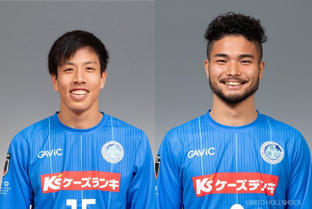 (左から)結婚を発表した奥田晃也(こうや)選手と安東輝(あきら)選手