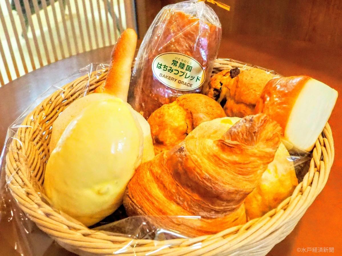 卵不使用の「ベーカリーグラース」のパン