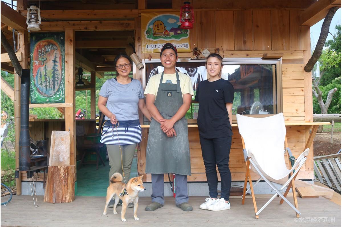 (左から)大和さん、川島さん、平澤さん