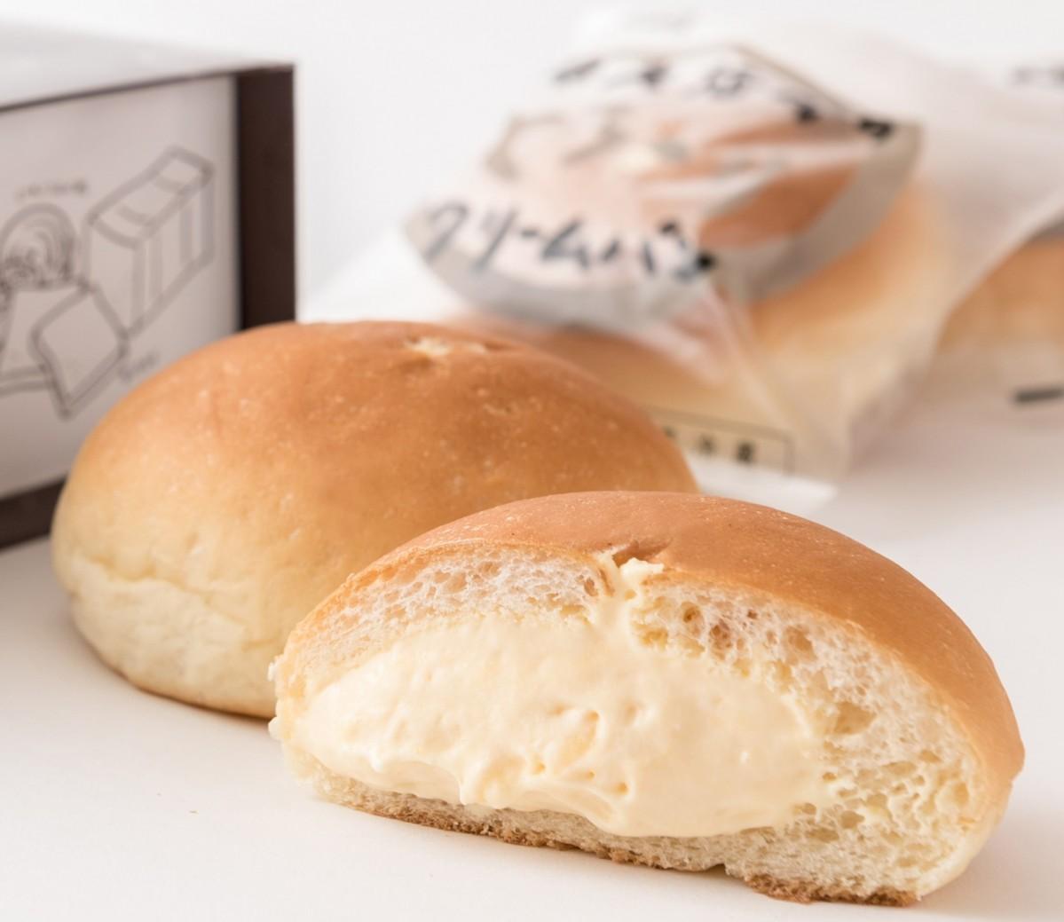 一番人気商品という「奥久慈卵のとろ~りクリームパン」