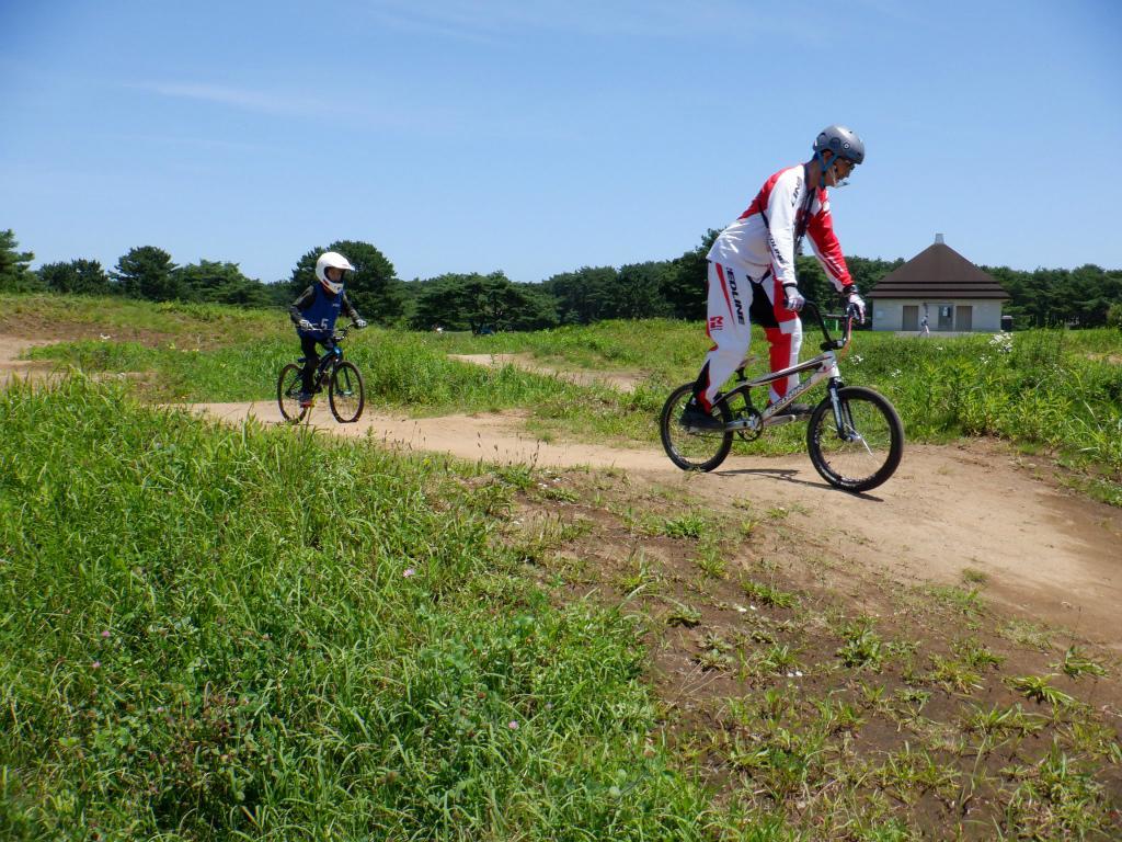 8月に開催された「BMX Summerレッスン」の様子(提供=国営ひたち海浜公園)