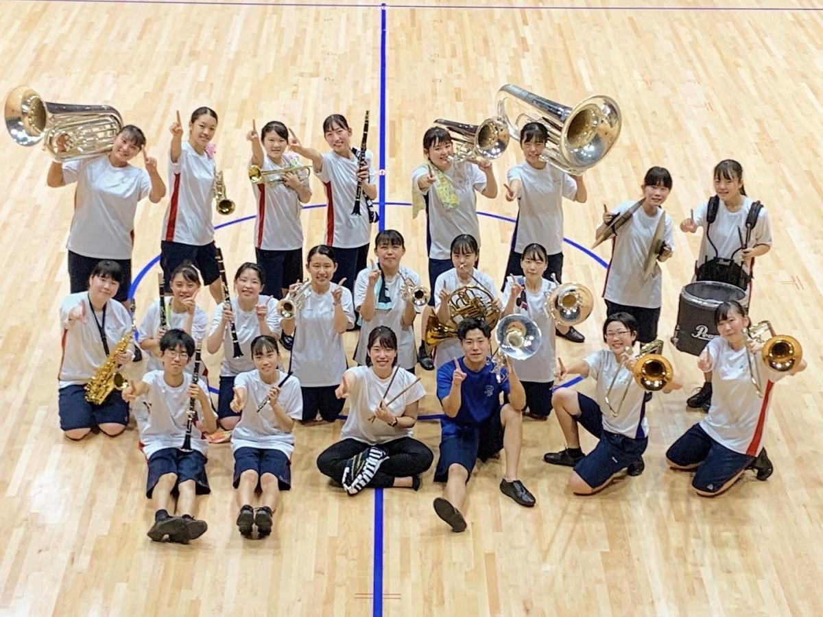 常磐大学高校・吹奏楽部(写真提供=常磐大学高校)