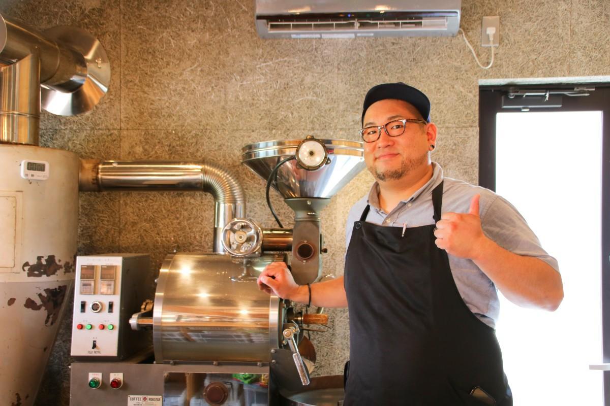 「MERCY's COFFEE(マーシーズコーヒー)」店主の大貫さん