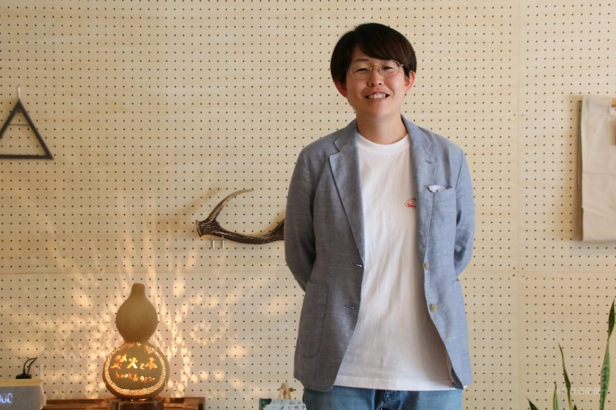 店主の佐藤穂奈美さん