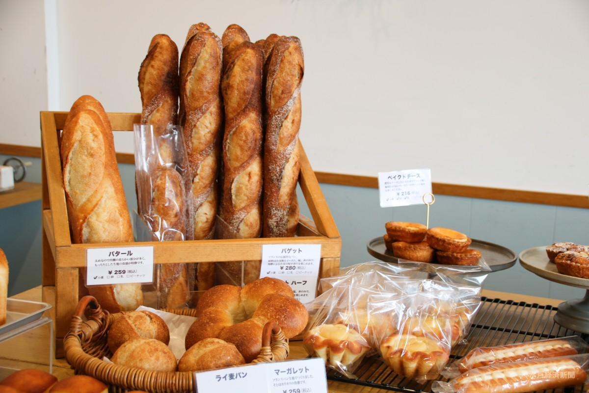「AGOCHI BAKERY(アゴチベーカリー)」のパン